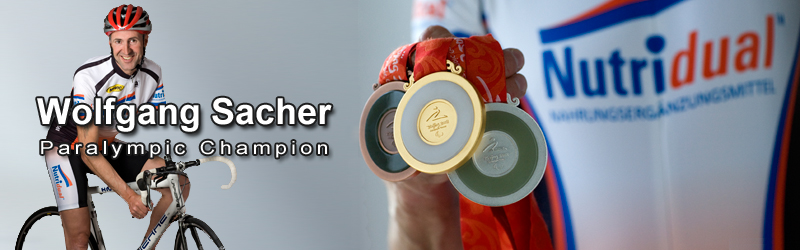 Wolfgang Sacher - Paralympic Champion